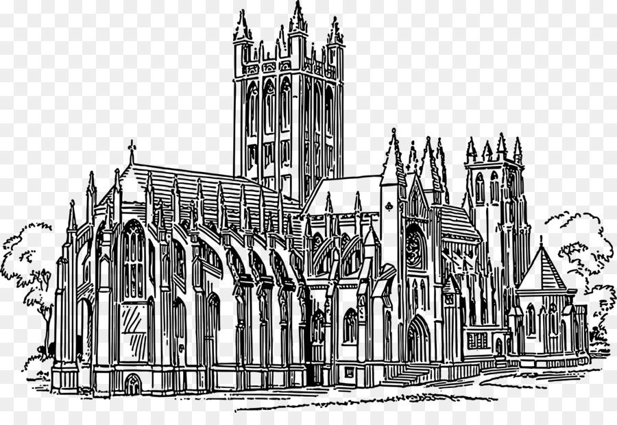 Church clipart gothic church. Architecture clip art png