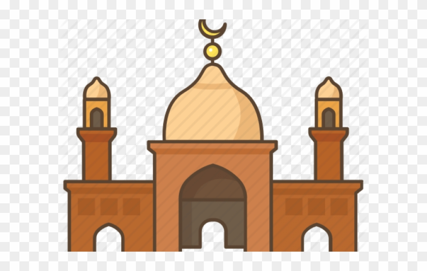 Mosque clipart mosk. Dome islam png download