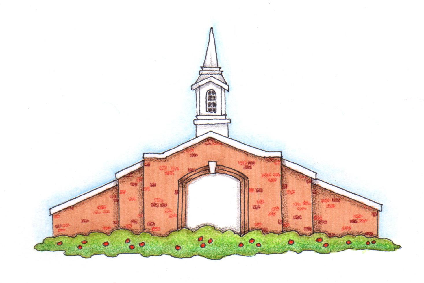 Susan fitch design house. Church clipart medieval church