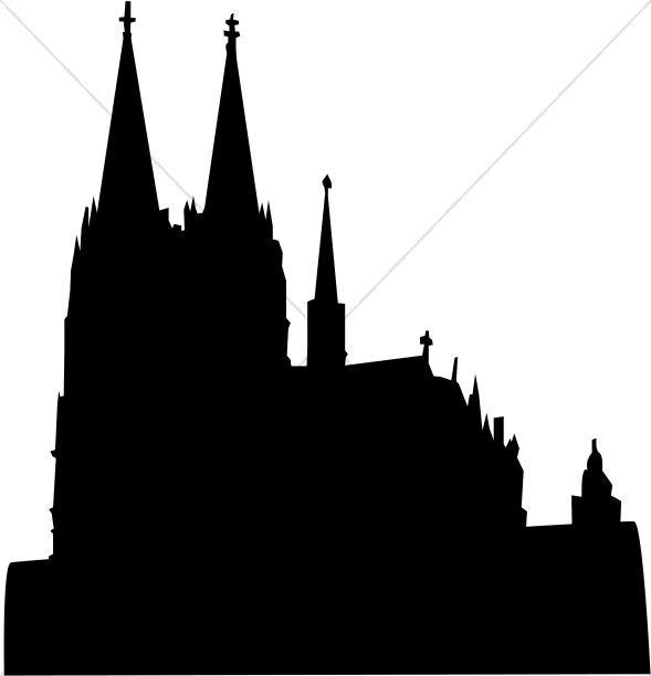 Class journals and churches. Church clipart medieval church