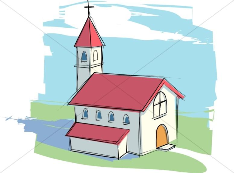 Portal . Church clipart medieval church