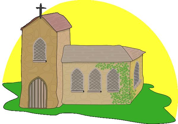 Country clip art at. Church clipart medieval church