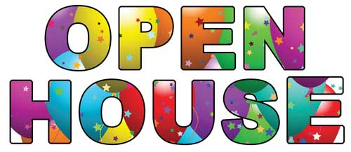 Church clipart open house. University nursery school schoolopenhouseclipartopenhousejpg
