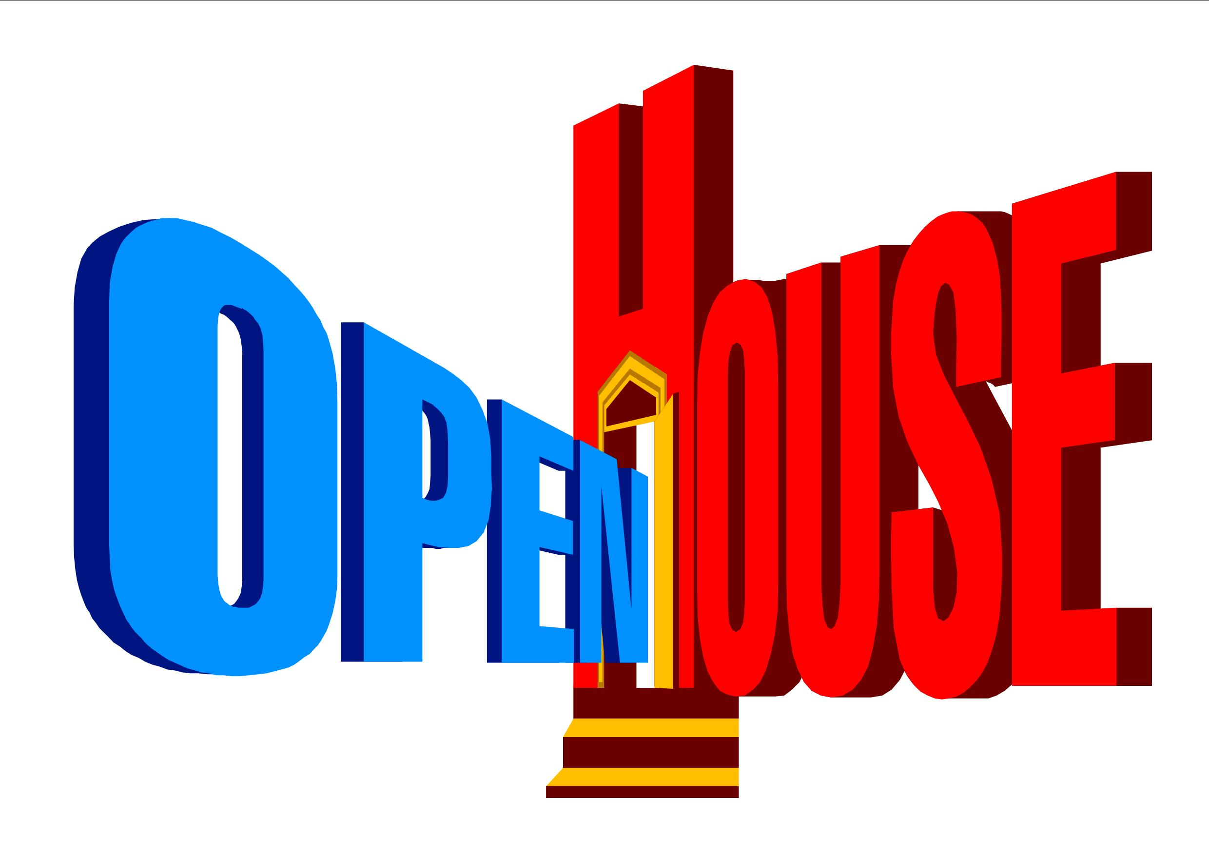 Church clipart open house. Time trish belford realty