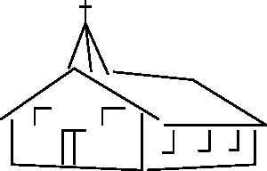 Church clipart simple. Building clip art at