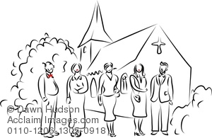 Church clipart simple. Image of line drawing