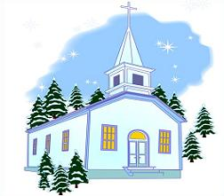 Cliparts zone . Clipart church winter