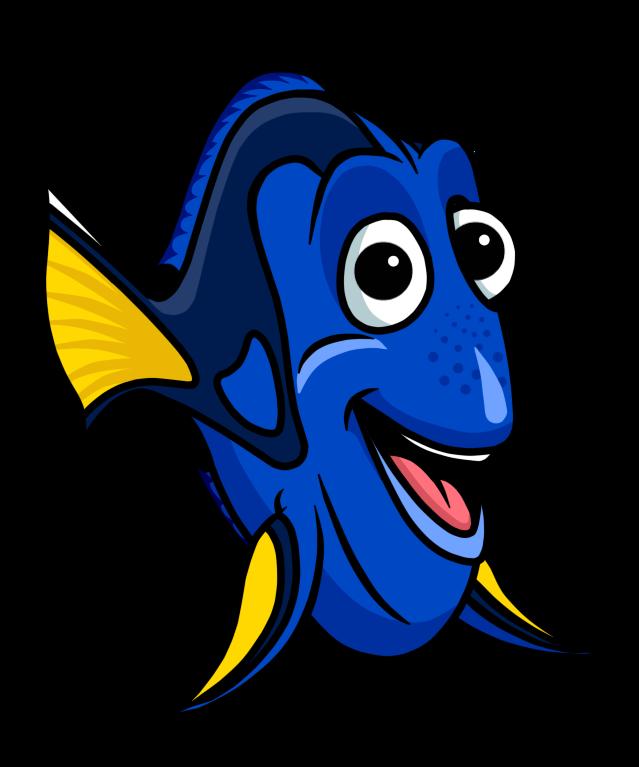 Cartoon nemo picture free. Clipart fish dinner