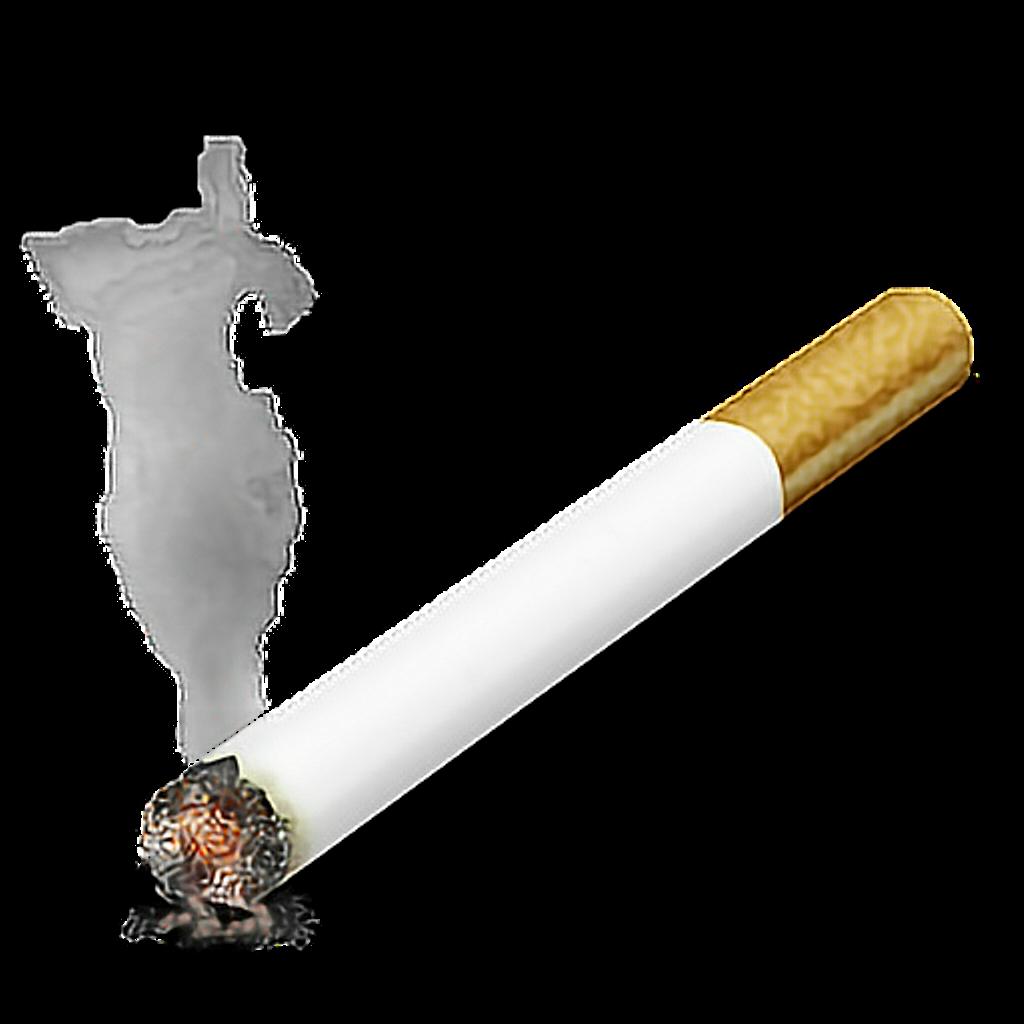 Cigarette sticker by alex. Cigar clipart burning