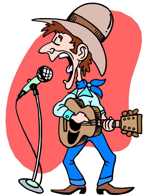 Markers clipart old. Country music panda free