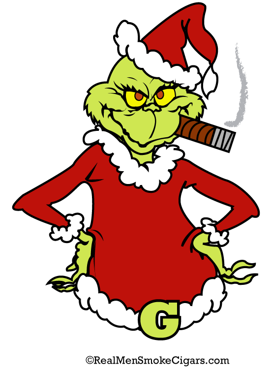 The grinch shirt . Cigar clipart cigar smoke