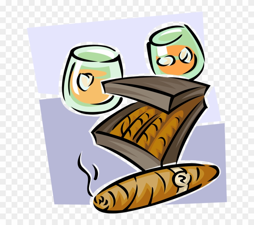 Cigar clipart cigar whiskey. Png download