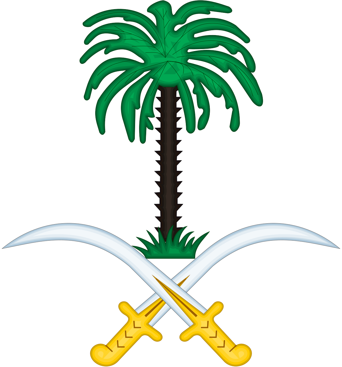 Emblem of saudi arabia. Fear clipart stressed female student