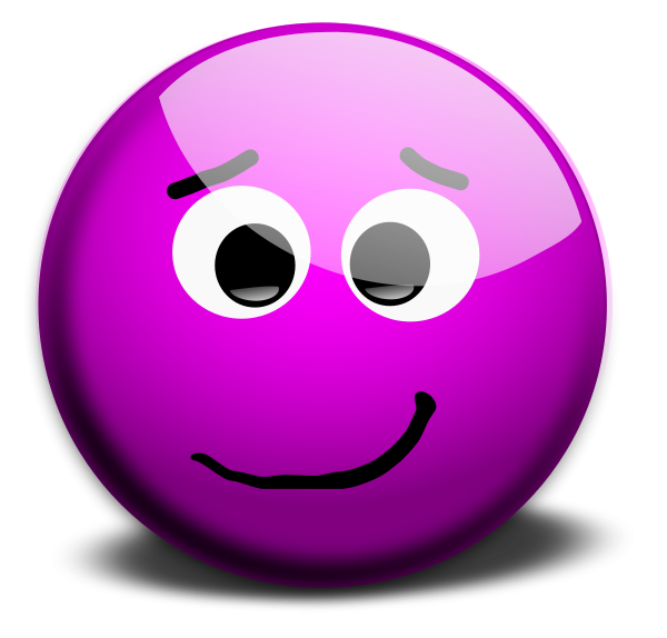 Lady clipart depressed. Purple m face smileys