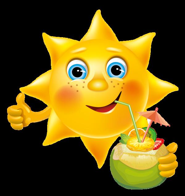 Vive les vacances au. Clipart stars emoji