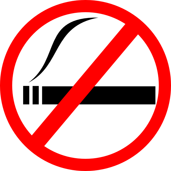 No smoking clip art. Cigar clipart file