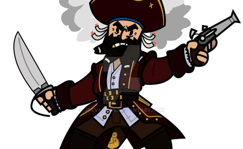 Blackbeard at getdrawings com. Cigar clipart leprechaun