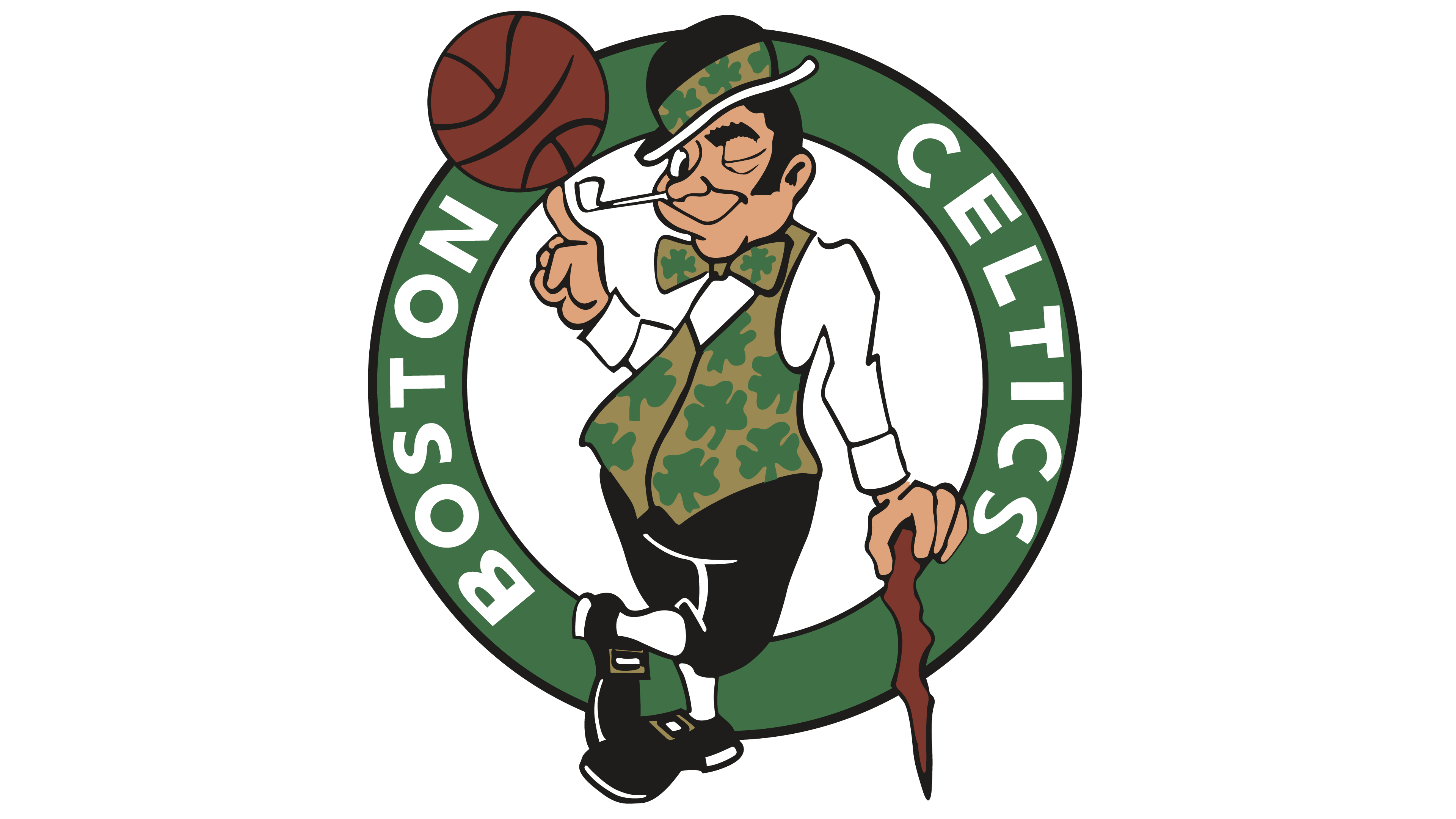Leprechaun clipart boston celtics. Logo interesting history of