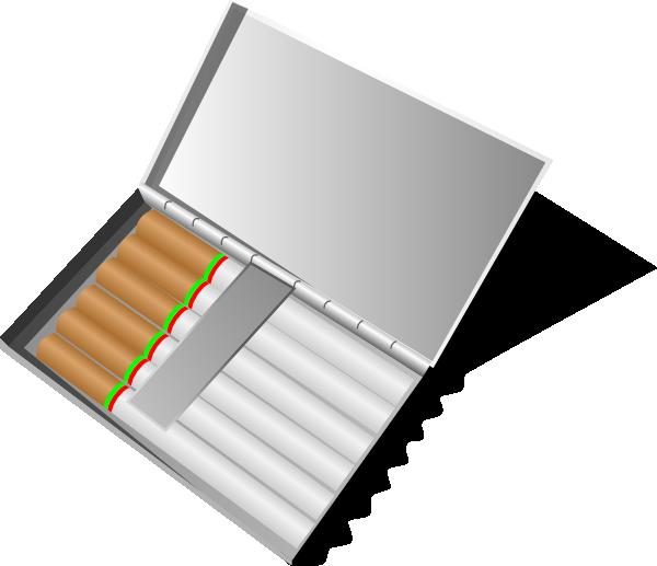 Cigar clipart lit. Cigarette box clip art