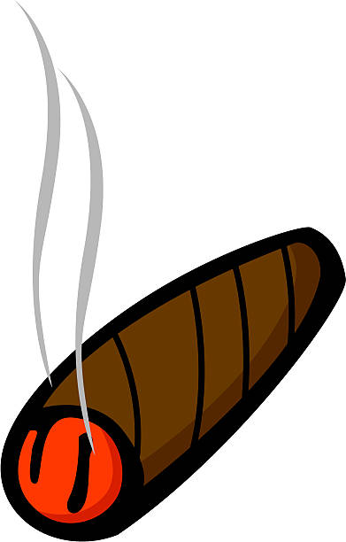 Cigar clipart lit. Free download best on