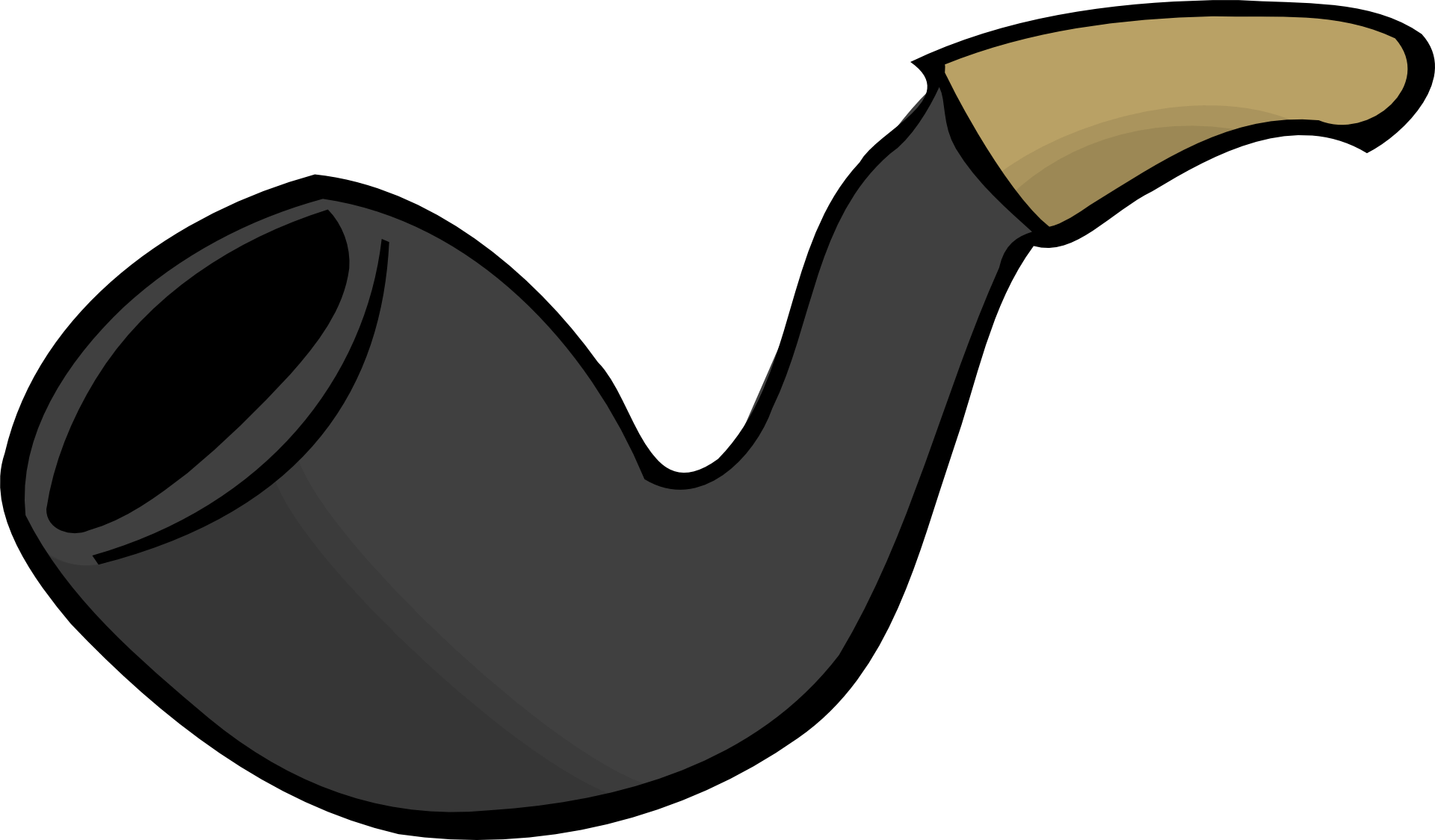 Cigar clipart sherlock holmes pipe. Grey smoking template free