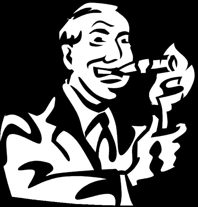 Cigar clipart svg. Fat cat capitalist lights