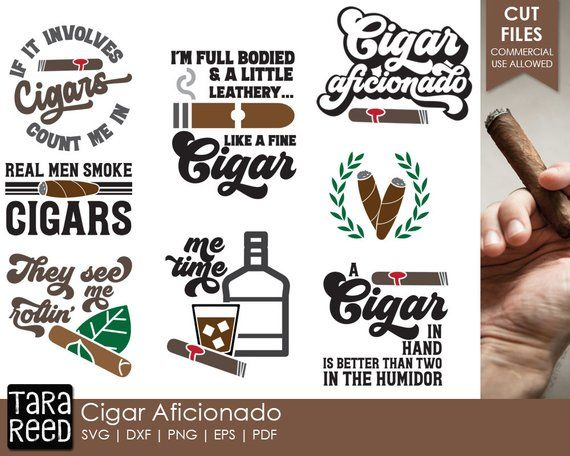 Cigar clipart svg. Pin on files bundles