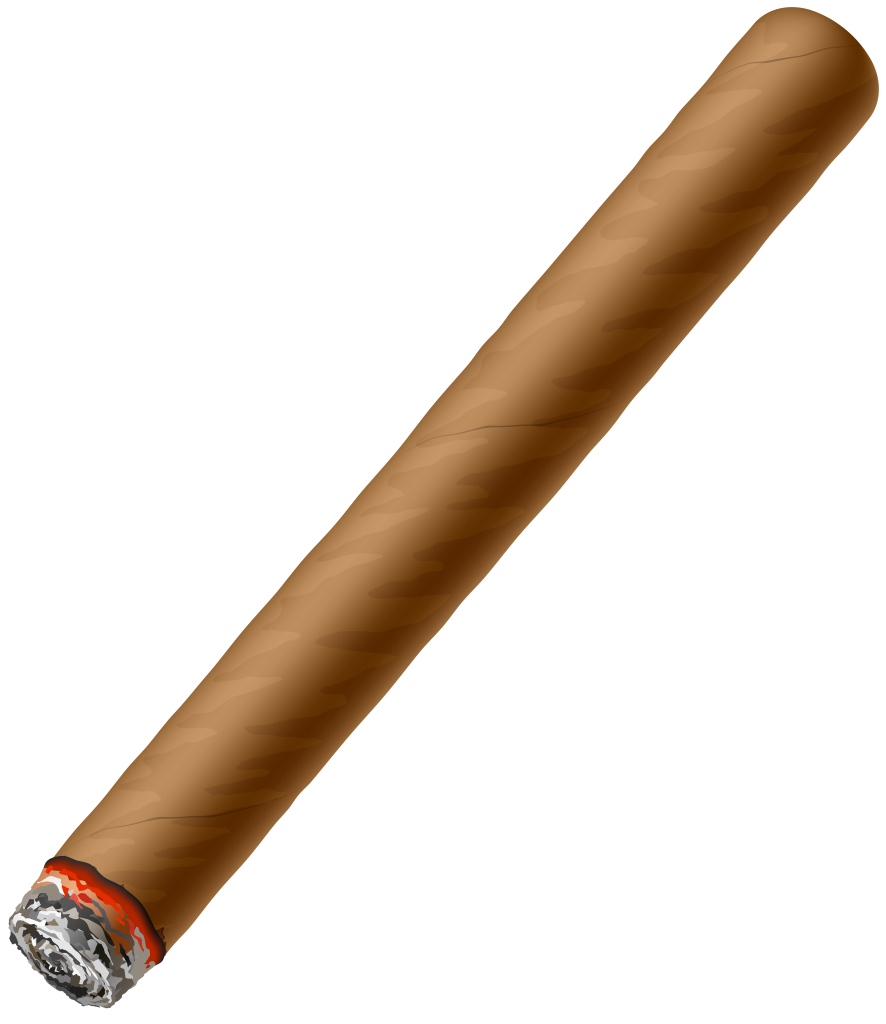 Cigar clipart tobacco. Png vector labs outdoor
