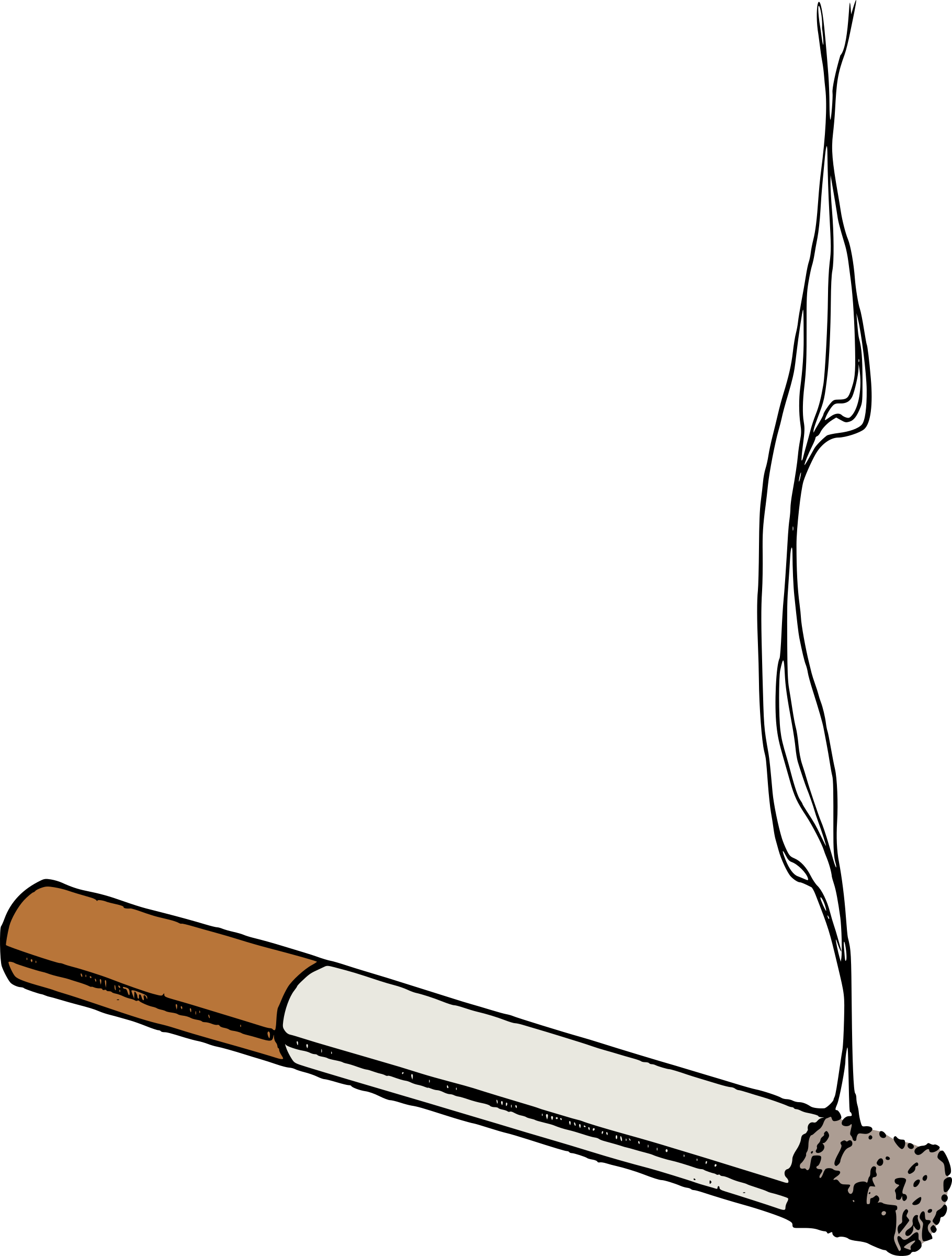 Colour cigarette big image. Marijuana clipart animated