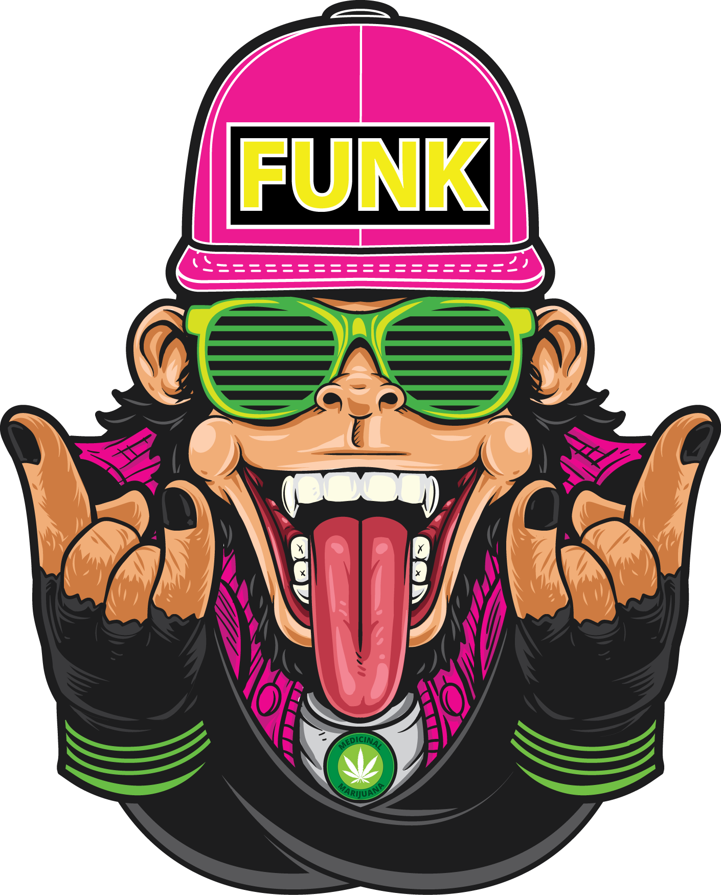 Cigarette clipart bent. Funky munkie extracts home