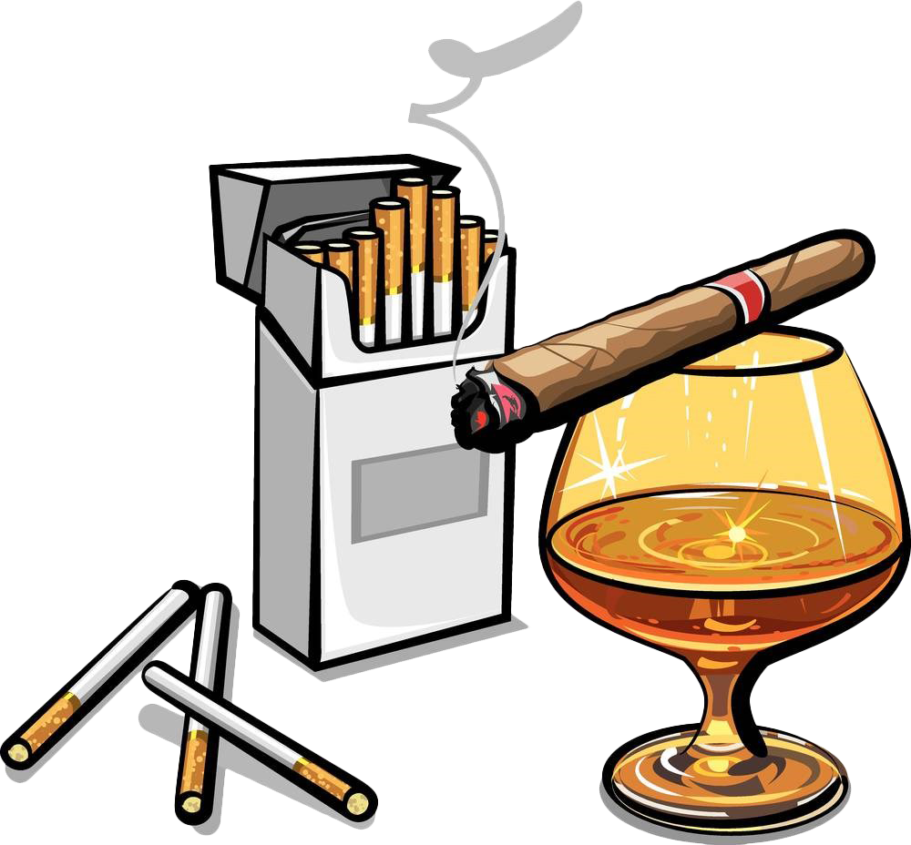 Stock photography clip art. Cigarette clipart cigarette alcohol