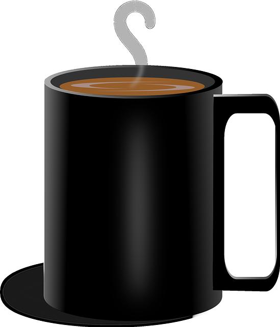 Coffee cup nineteen isolated. Mug clipart skeleton