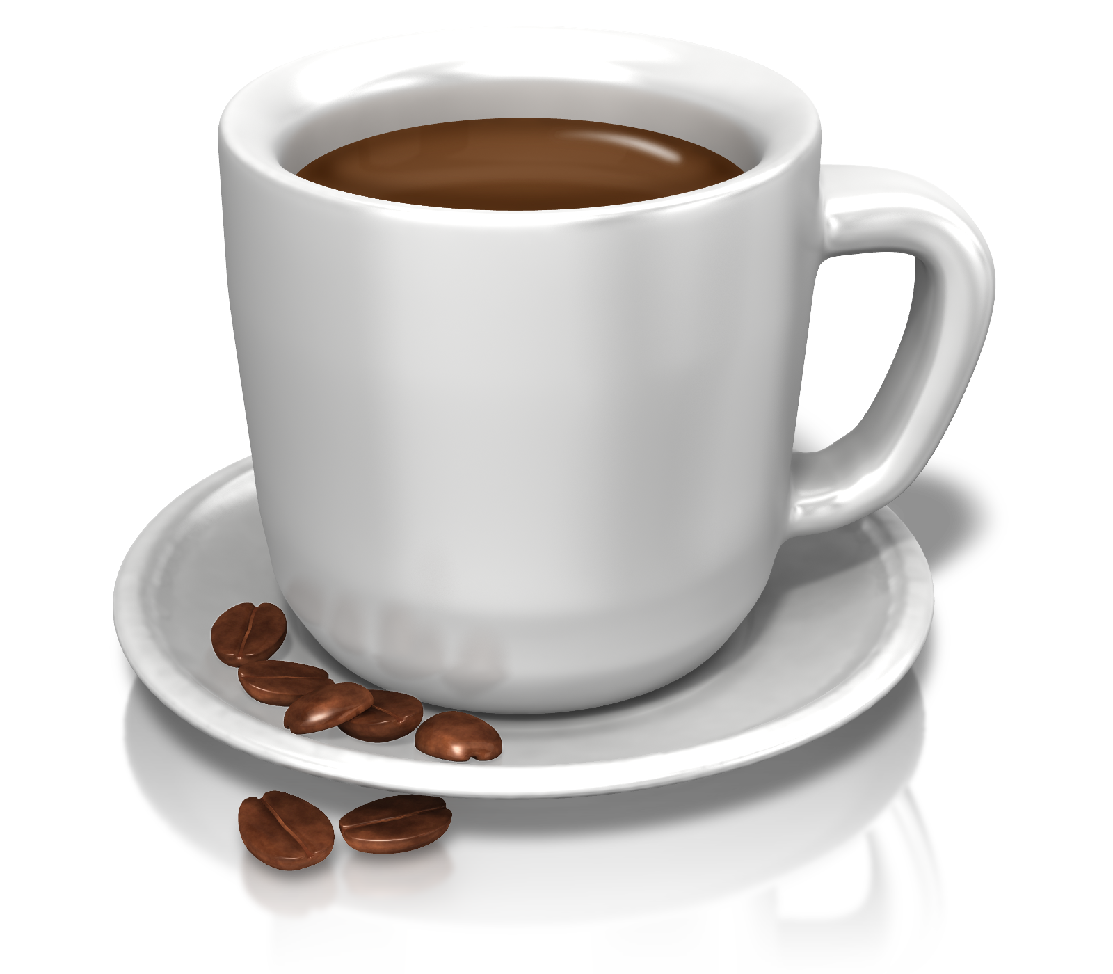 Cup three isolated stock. Coffee png images