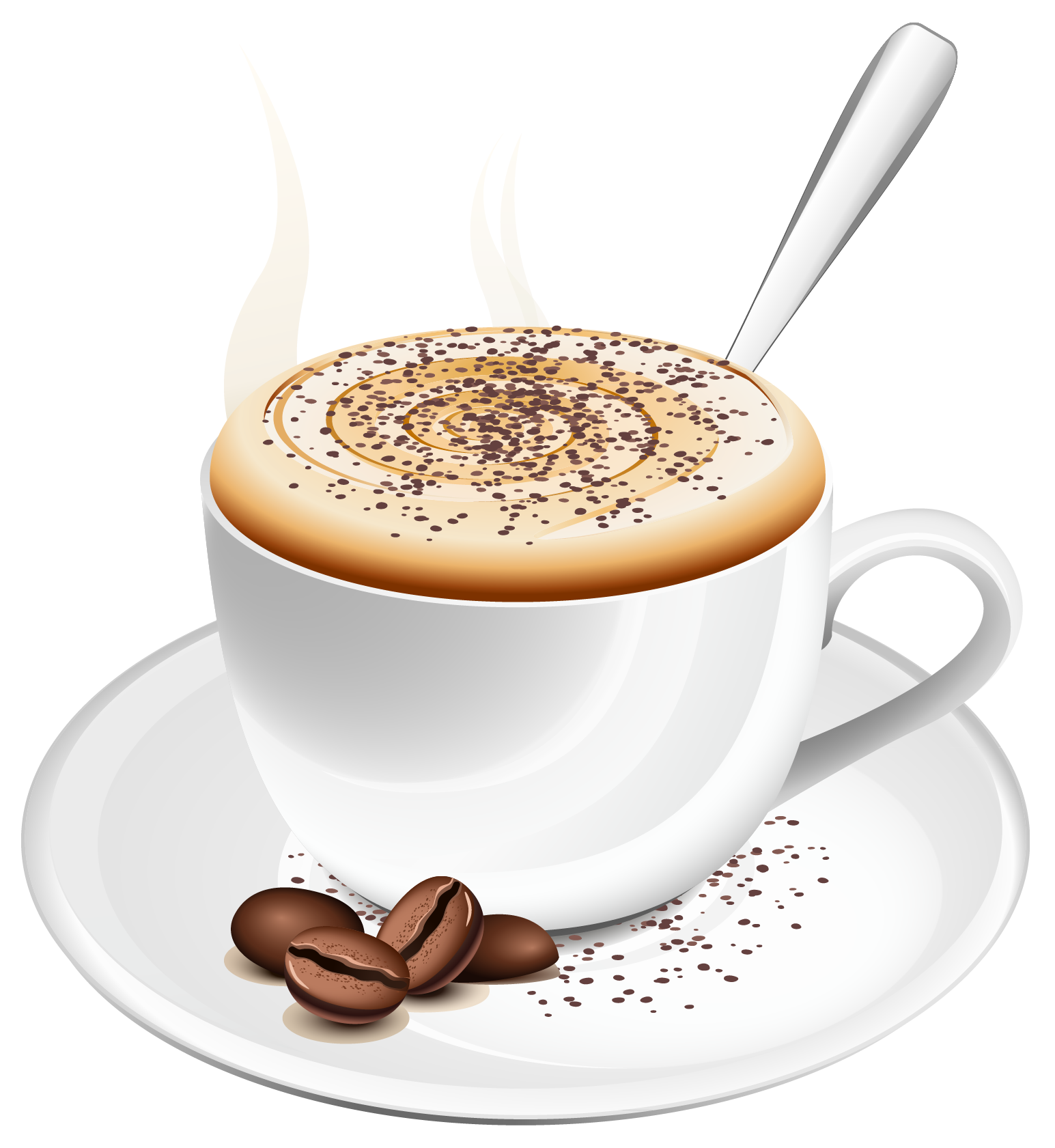 Hq png transparent images. Clipart coffee summer