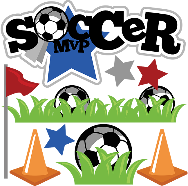 Decoration clipart soccer. Mvp svg ball cute