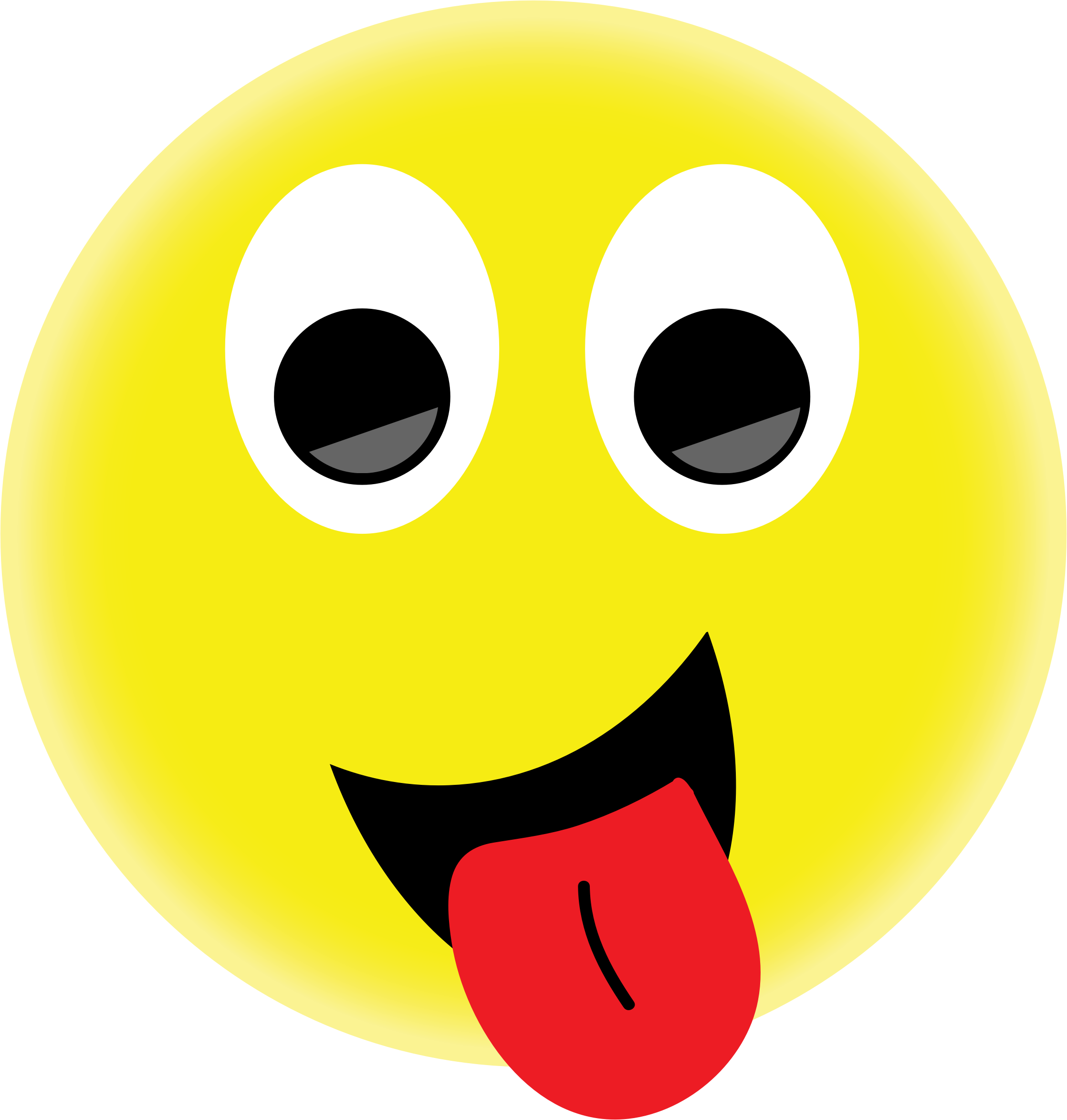 Wednesday clipart smiley. Png face with tongue