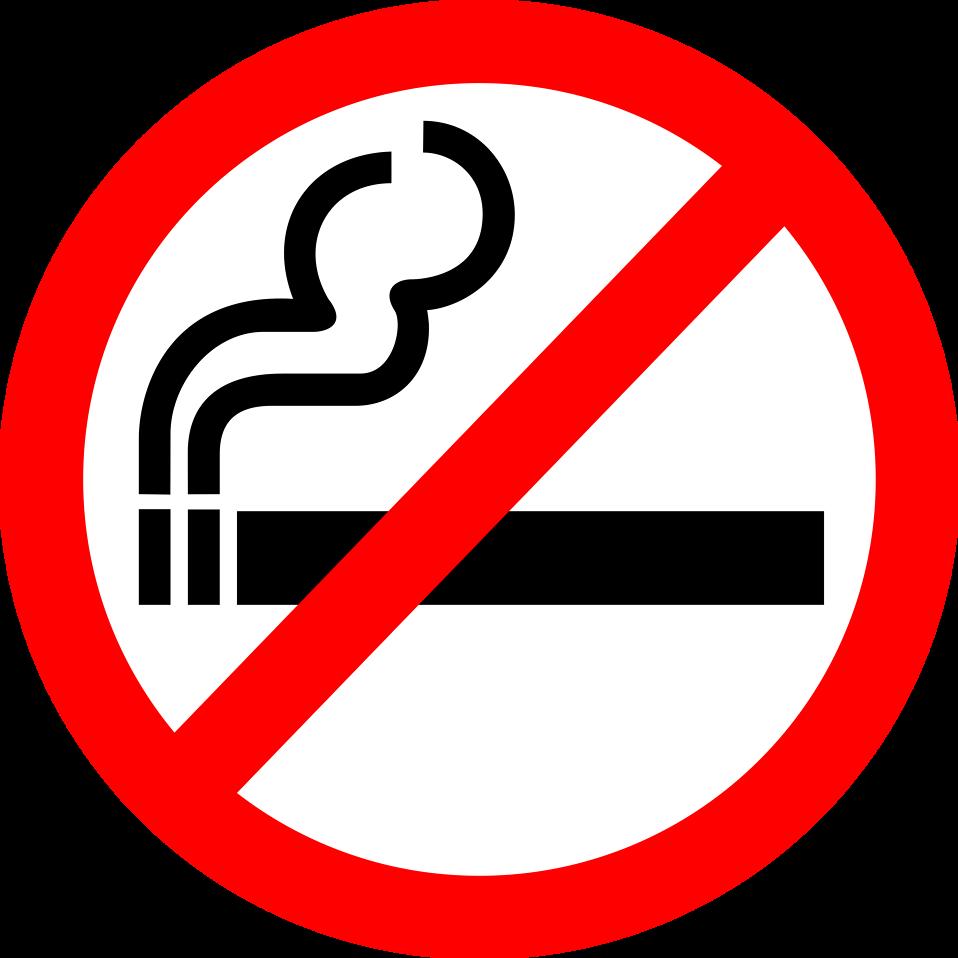Food clipart smoke. No smoking free stock
