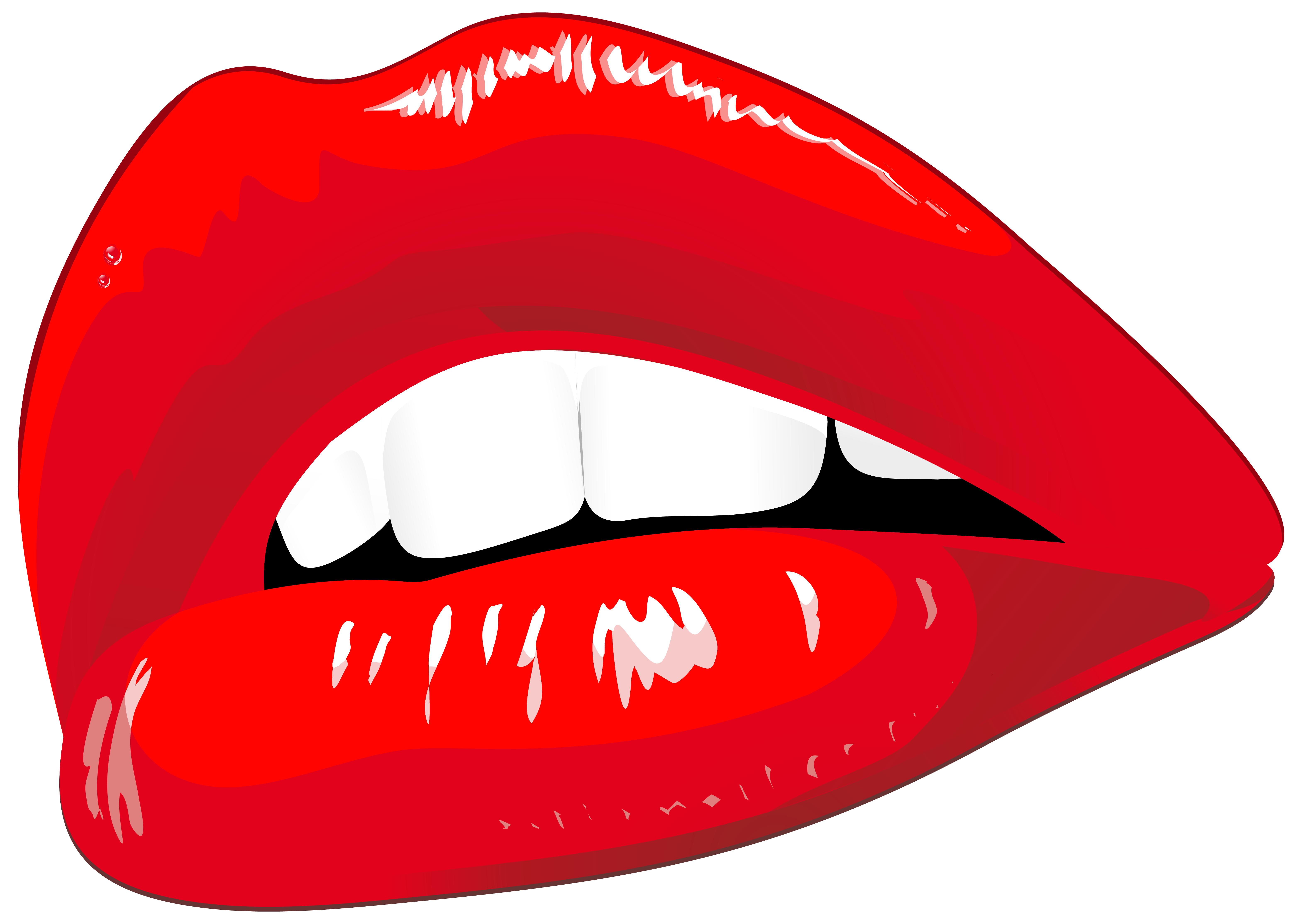 Red lips png clip. Lip clipart mouth