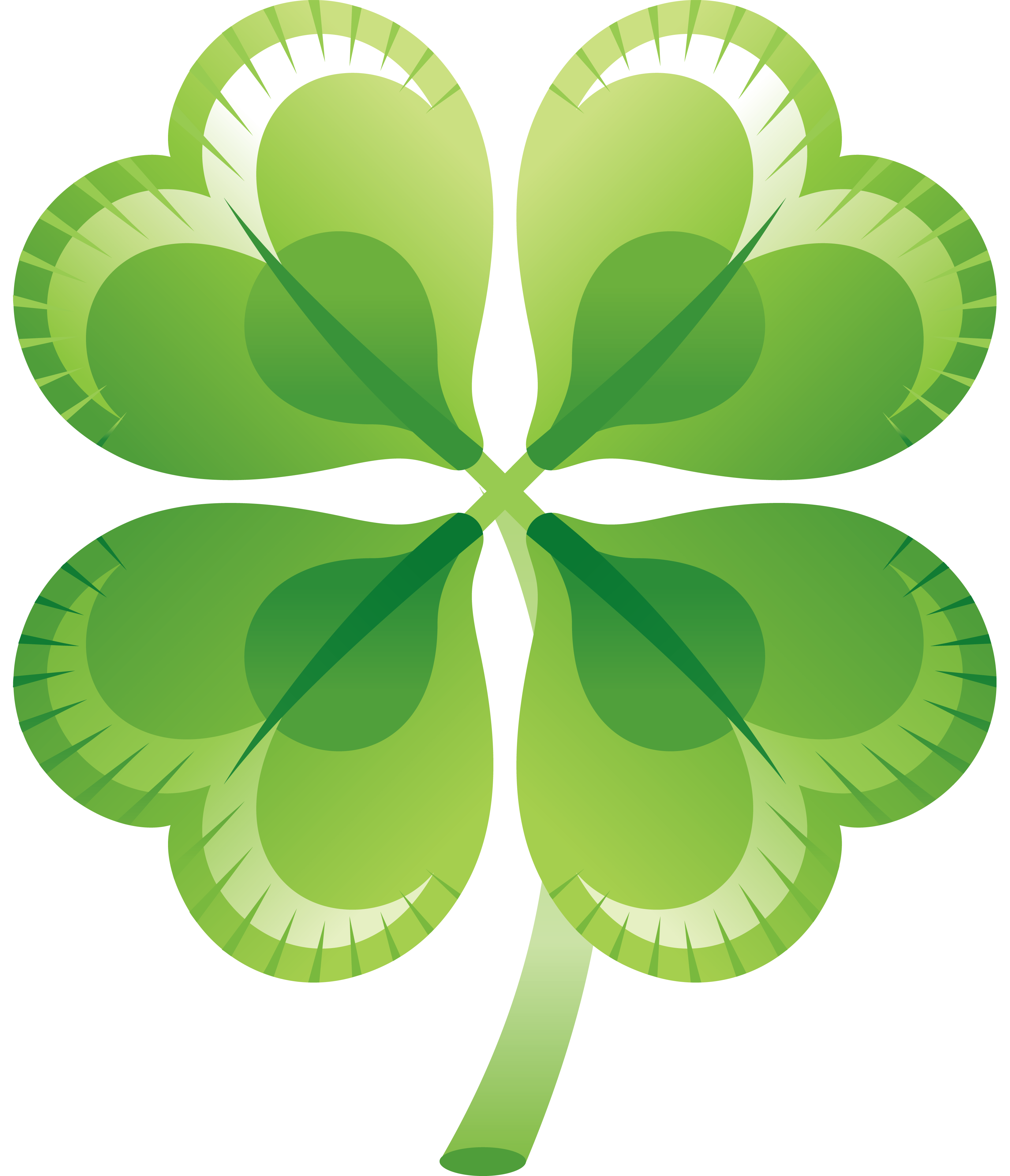 Clover clipart three. Leaf isolated stock photo
