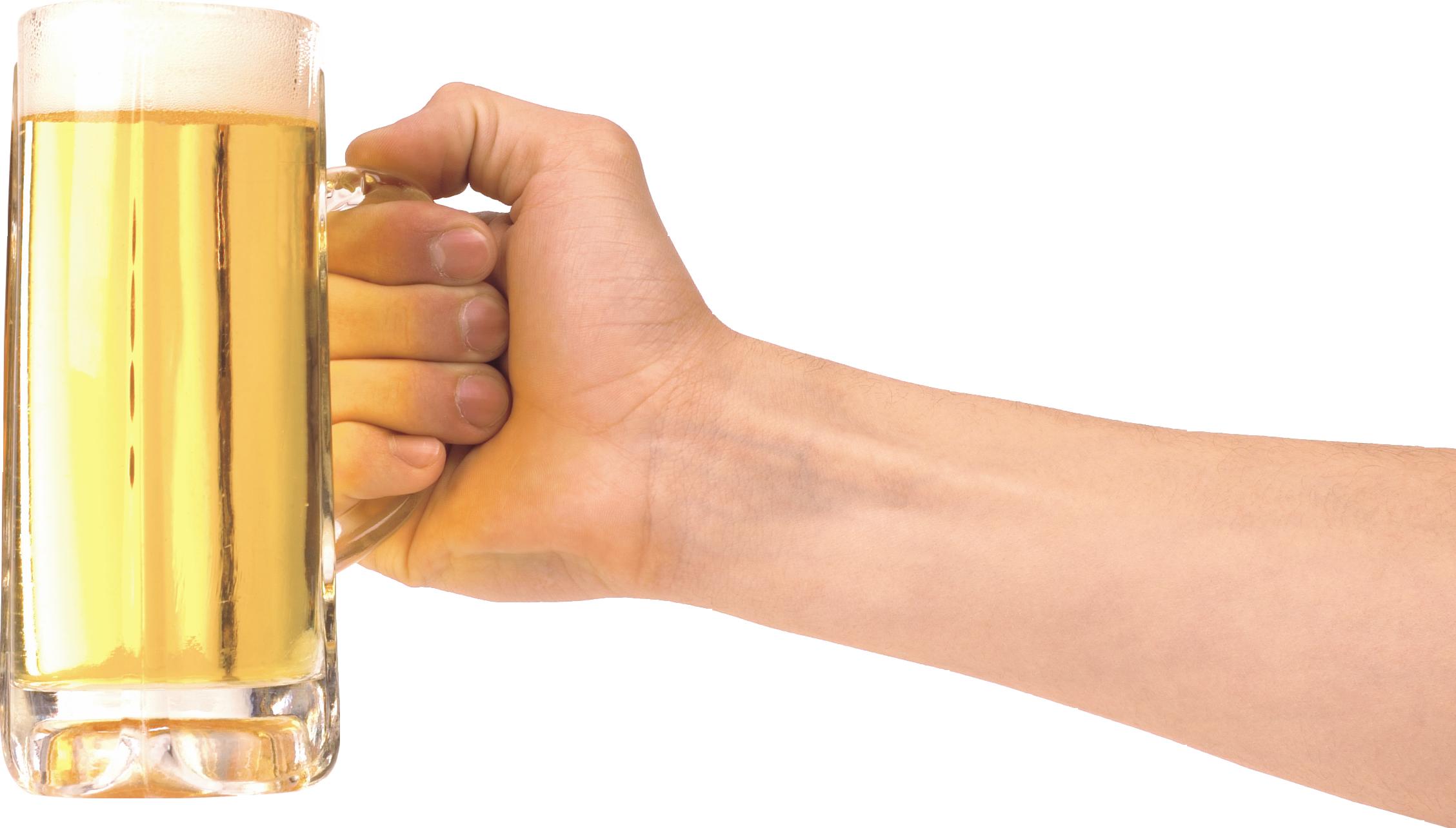 One clipart foam finger. Hand holding glass of