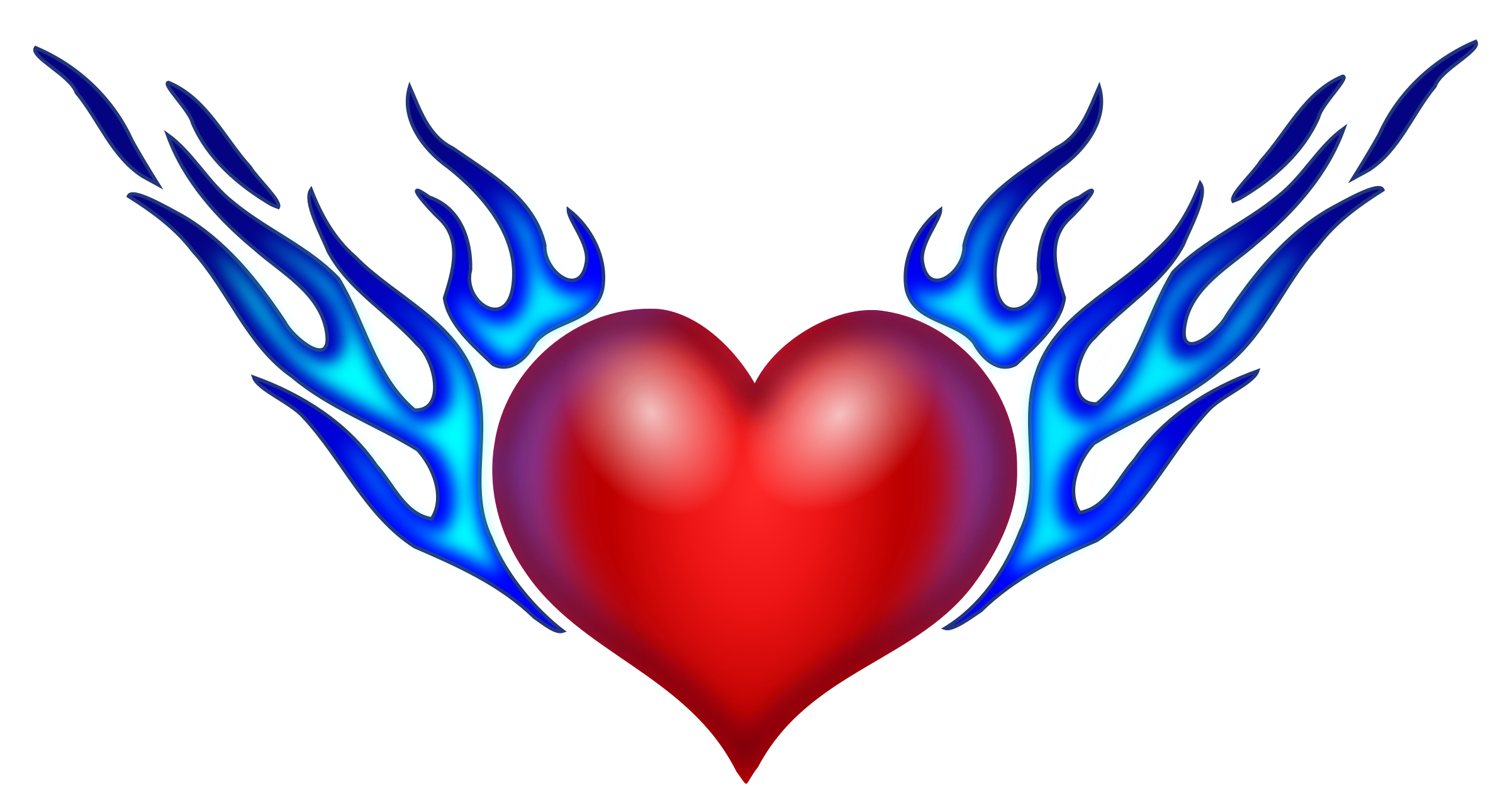 Burning icons png free. Drawing clipart heart
