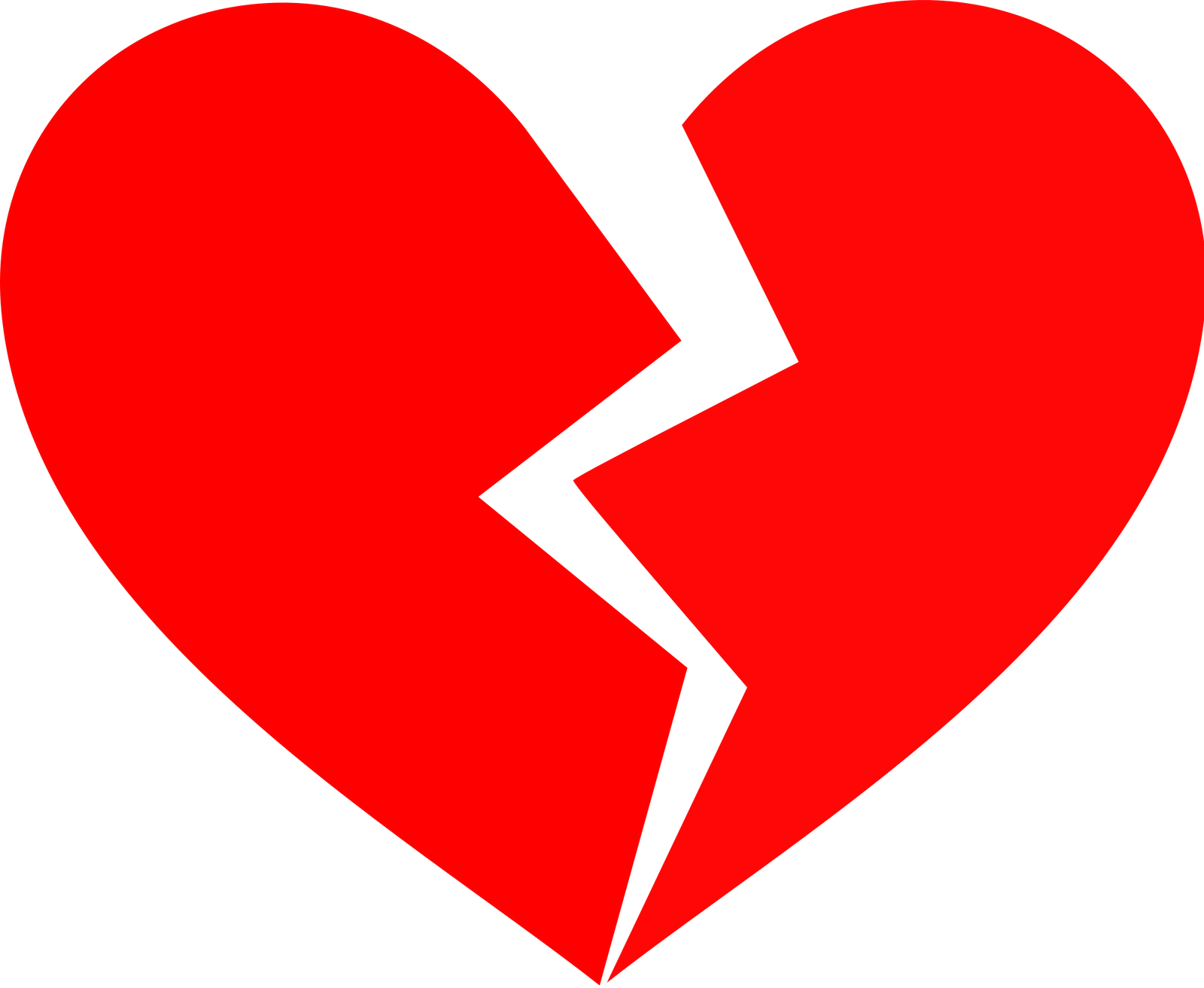 collection of broken. Heat clipart multiple heart