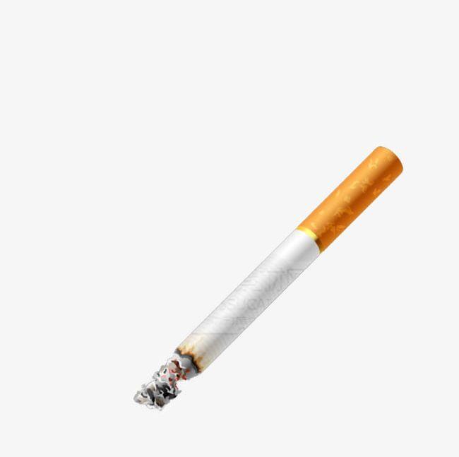 Cigar clipart burning. Lit cigarette png