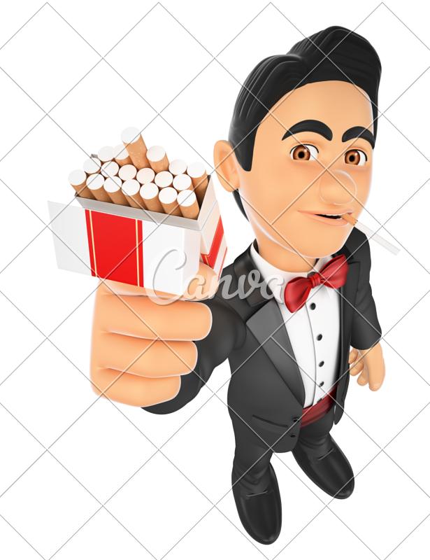 smoking clipart noi #143353723