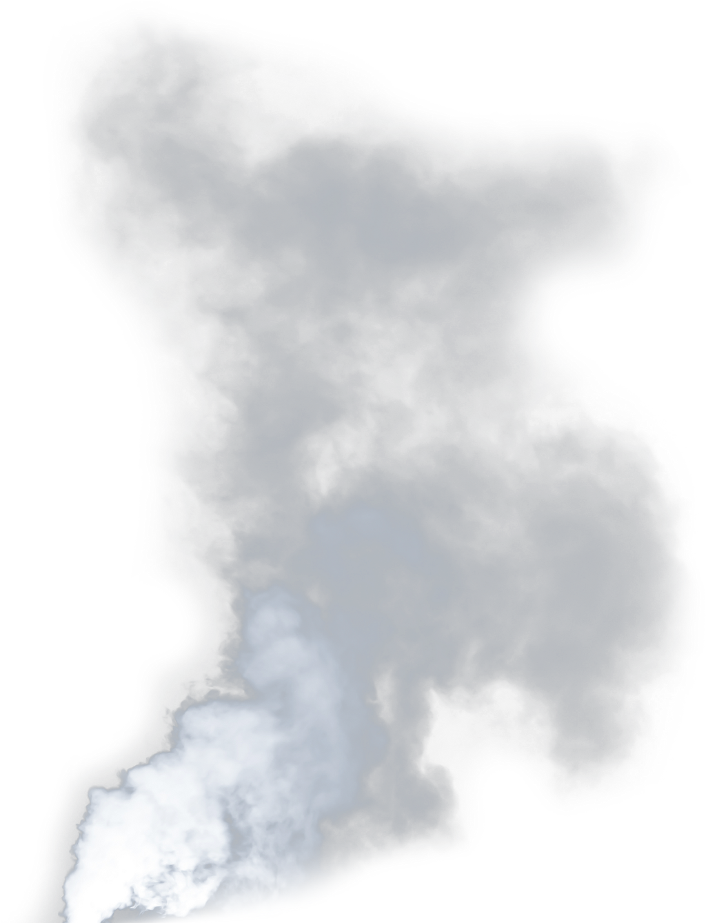 Smoke cloud cigarette vape. Fire clipart volcano