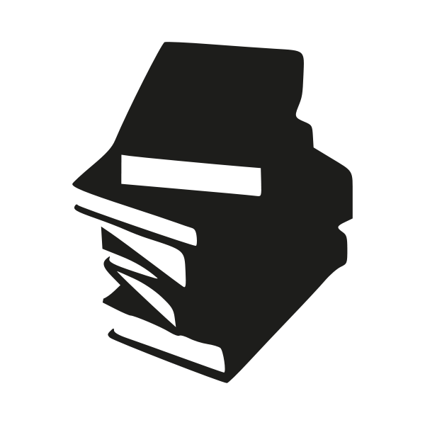 Tall Stack Of Books PNG Black And White Transparent Tall Stack Of