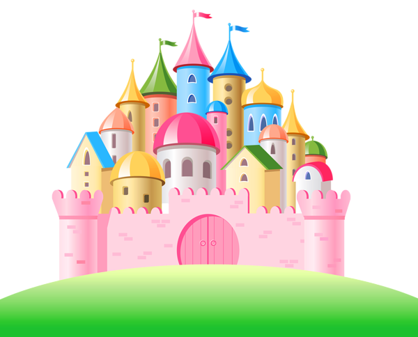 Clipart castle pink. Cinderella image clip art