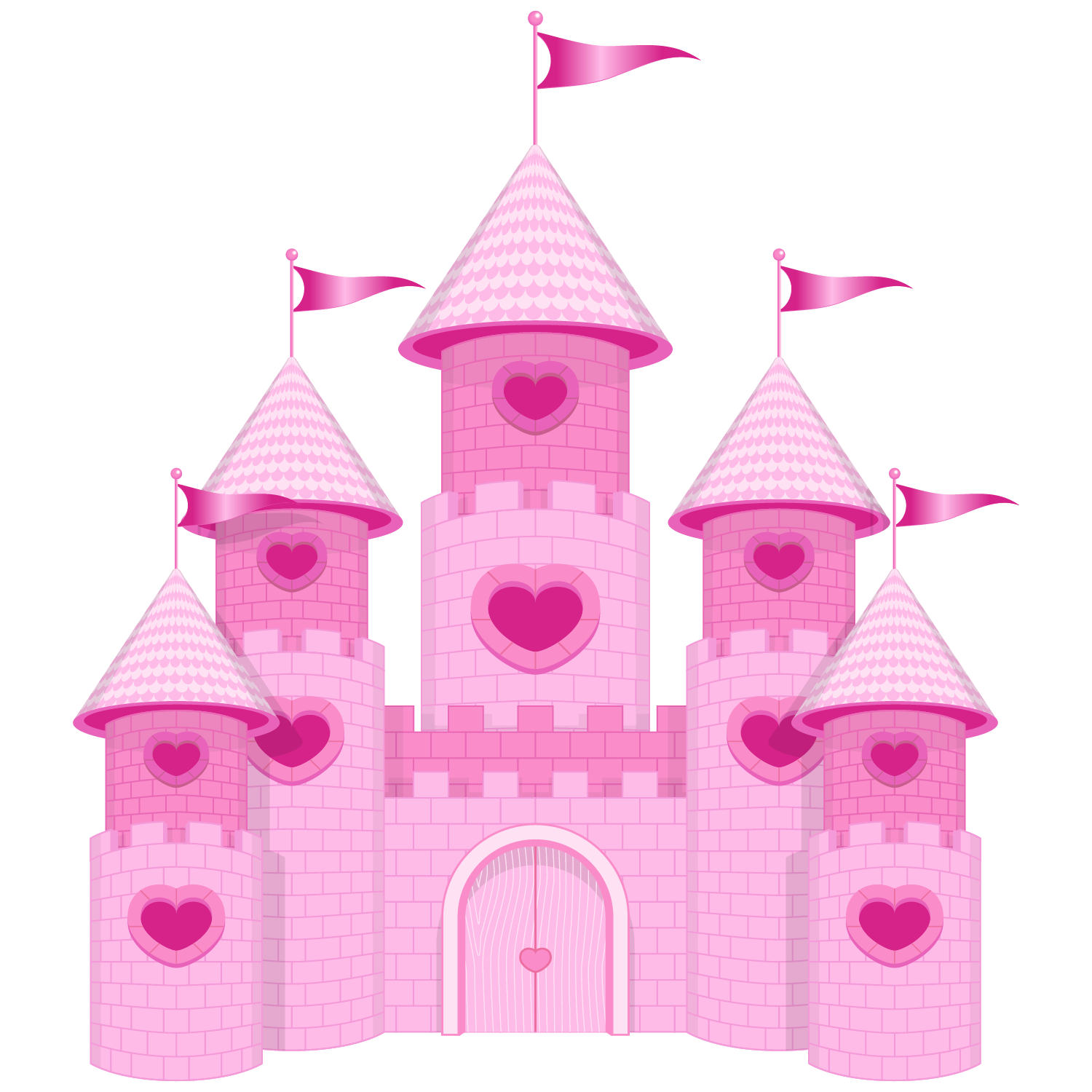 Princesas e pr ncipes. Clipart castle bedroom