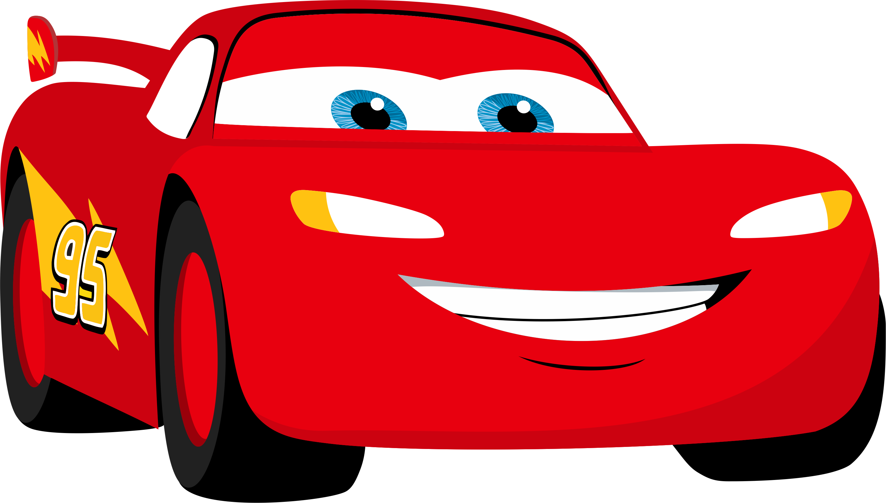 Disney cars silhouette at. Clipart car lightning mcqueen