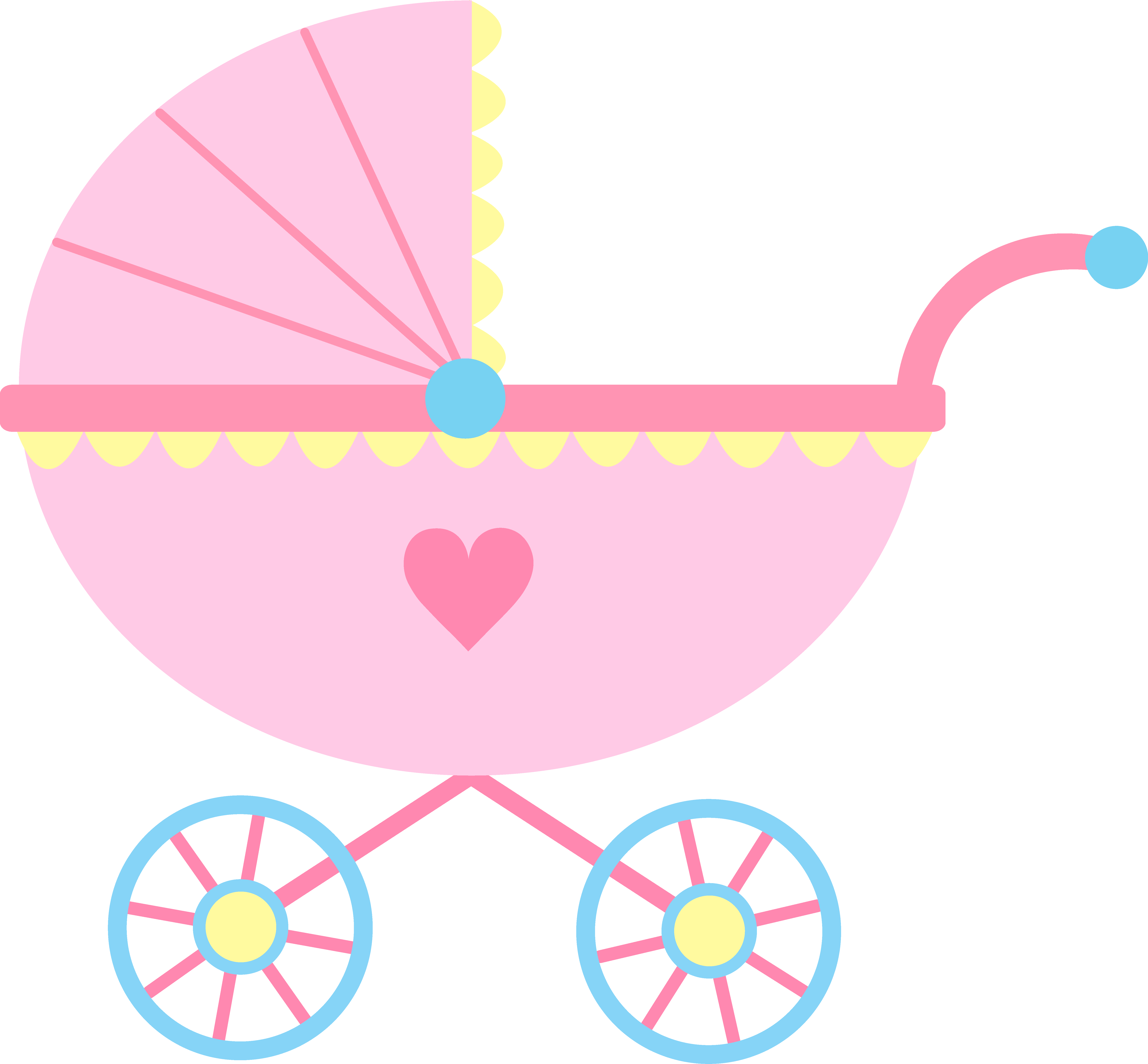 Clipart penquin baby girl. Princess carriage panda free